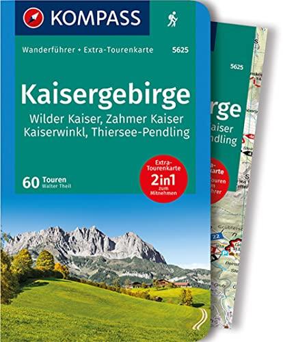 9783990440452: Kaisergebirge: Wanderführer mit Extra-Tourenkarte 1:35.000, 60 Touren, GPX-Daten zum Download