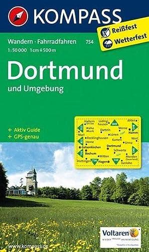 9783990440575: Dortmund und Umgebung 1 : 50 000: Wanderkarte mit Aktiv Guide und Radrouten