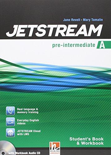 9783990450123: Jetstream Pre Intermediate. Libro Del Alumno Y Cuaderno De Ejercicios A+