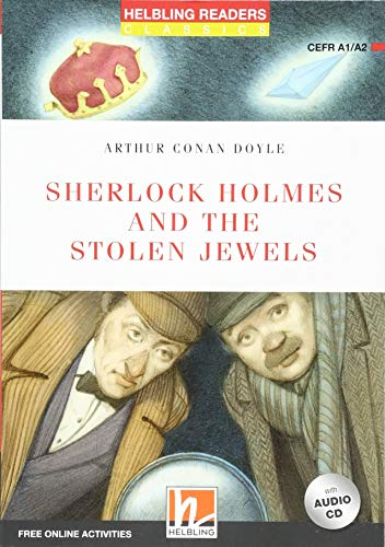 9783990456873: Sherlock Holmes and the Stolen Jewels, mit 1 Audio-CD: Helbling Readers Red Series / Level 2 (A1/A2) [Lingua inglese]