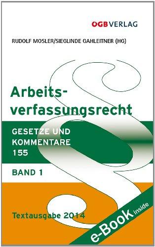 9783990460214: Arbeitsverfassungsrecht (f. Österreich). Bd.1