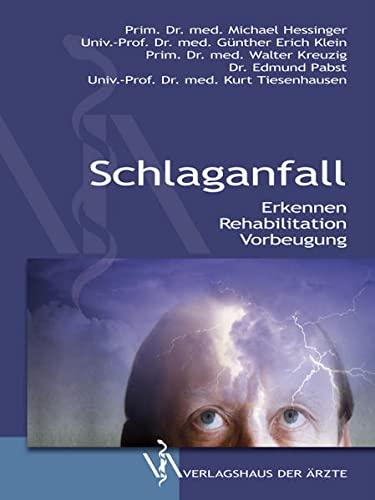 9783990520246: Schlaganfall: Erkennen - Rehabilitation - Vorbeugung