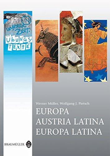 9783994000133: Europa / Austria Latina / Europa Latina - Übungstexte