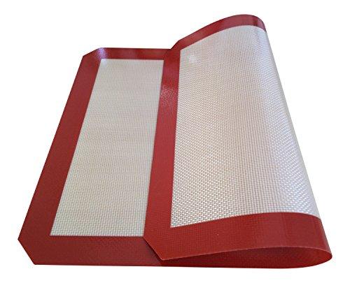 9784000432153: Baking Factory® Tapis de cuisson en silicone anti-adhésif Très facile à nettoyer.(42-30cm)