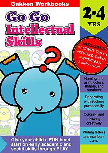 Go Go Intellctual Skills 2-4 (Gakken Workbooks): Gakken