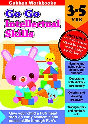 9784056300109: Go Go Intellectual Skills 3-5 (GakkenWorkbooks)