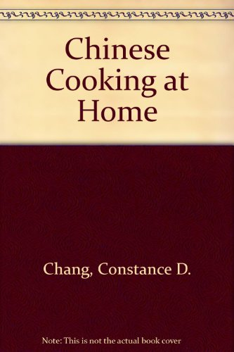9784079724180: Chinese Cooking at Home