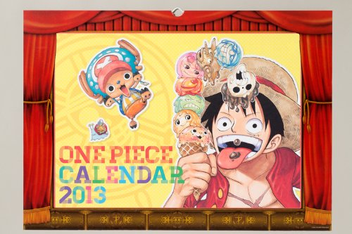 9784089081686: ONE PIECE 2013 Calendar [Calendar] by Japanese Calendar (japan import)