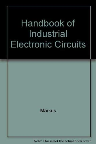 9784123639842: Handbook of Industrial Electronic Circuits