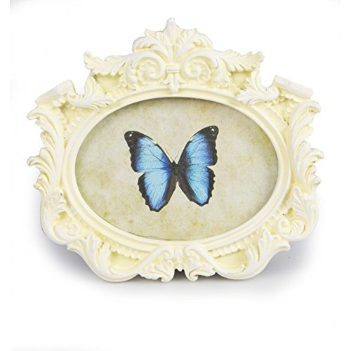 9784123695220: Azzaria...Vintage Classic Oval Landscape Picture Frame...Picture Size: 11cm x 7.5cm...Can Stand Or Hung