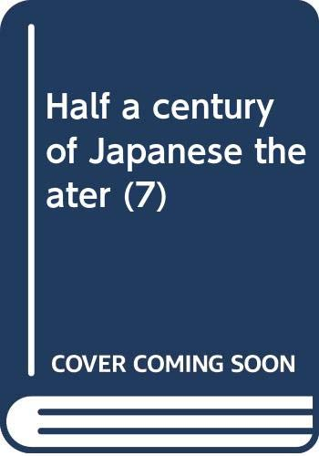 9784314101561: Half a Century of Japanese Theater, 1960's