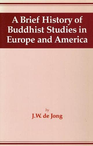 9784333017621: A Brief History of Buddhist Studies in Europe and America