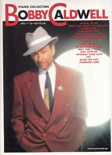 9784401012718: Piano Collection Bobby Caldwell (Piano Collection)