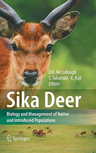 Sika Deer (Hardback)