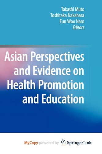 9784431538905: Asian Perspectives and Evidence on Health Promotion and Education