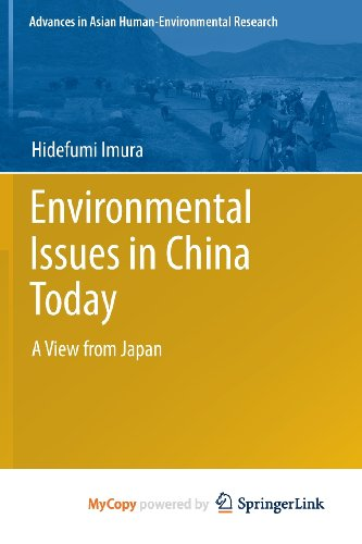 9784431541219: Environmental Issues in China Today: A View from Japan