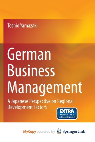 9784431543046: German Business Management