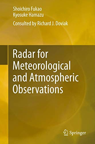 9784431543336: Radar for Meteorological and Atmospheric Observations