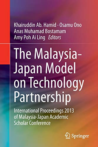 The Malaysia-Japan Model on Technology Partnership: Osamu Ono