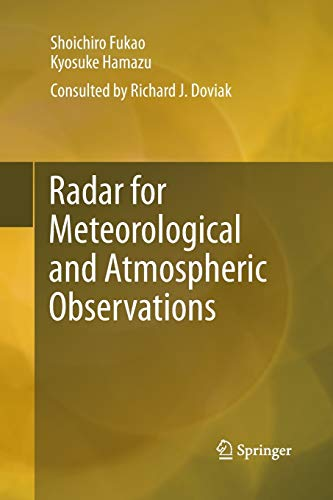 9784431547402: Radar for Meteorological and Atmospheric Observations