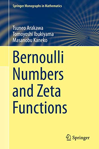 9784431549185: Bernoulli Numbers and Zeta Functions (Springer Monographs in Mathematics)