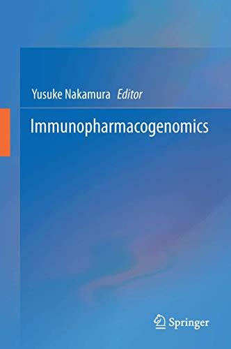 9784431557258: Immunopharmacogenomics