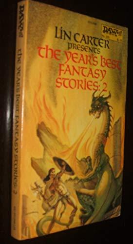 The Year's Best Fantasy Stories #2 [DAW: Lin (ed.); Clark