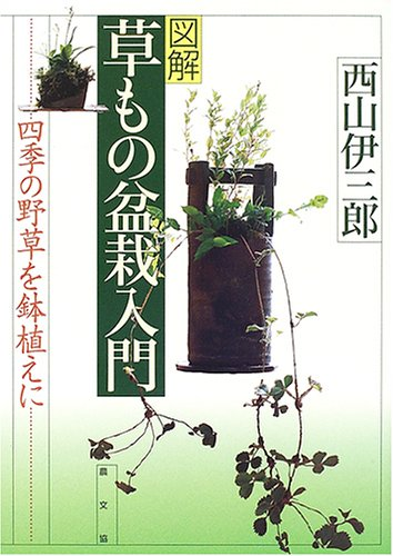 "Zukai kusamono bonsai nyuÌ?mon: IsaburoÌ"" Nishiyama"