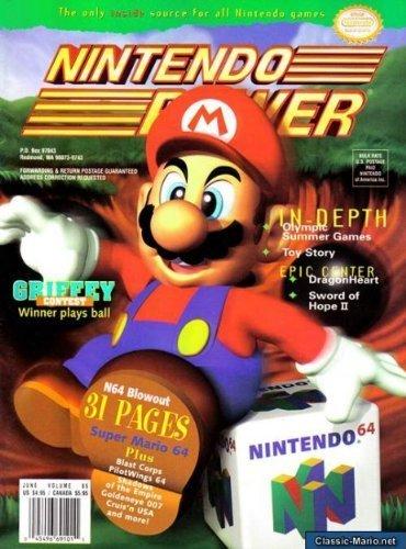 9784549669102: Nintendo Power June Volume 85 (Nintedno 64/Super Mario 64) (Nintendo Power, 85)
