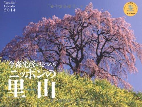 9784635845311: Satoyama 2014 Japanese forest Mitsuhiko stare now (Yamakei Calendar 2014 Yama-Kei Calendar 2014) (japan import)