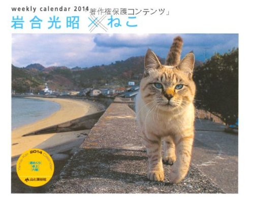 9784635845427: Turning Mitsuaki Iwago x cats week (Yamakei Calendar 2014 Yama-Kei Calendar 2014) (japan import)