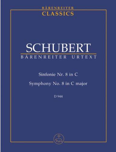 9784636021714: シューベルト: 交響曲 第8番 ハ長調 「大交響曲」/ベーレンライター社新シューベルト全集版中型スコア