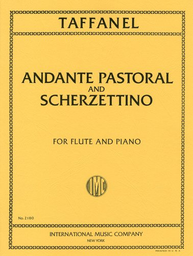 Tafaneru: Andante, pastoral and small Scherzo /