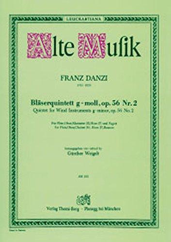 Dantsui: wind quintet in G minor Op.56