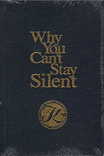9784654876839: Why You Can't Stay Silent (Kennedy Collection Edition)
