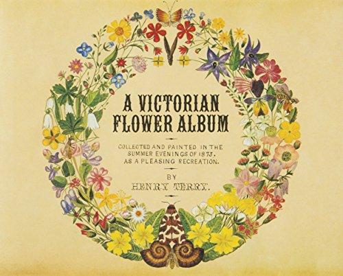 9784756250605: A victorian flower album