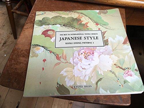 Textile Dyeing Patterns No 3: Kyoto Shoin