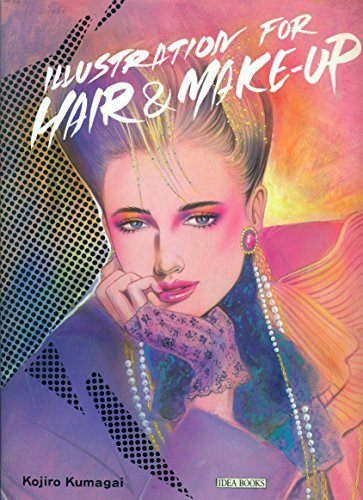 Illustration for Hair & Make-Up (English and Japanese Edition) (9784766104134) by Kojiro Kumagai