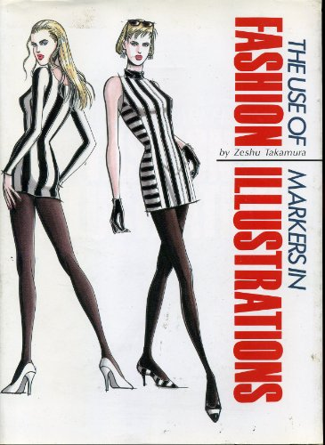 The Use of Markers in Fashion Illustrations: Takamura, Zeshu