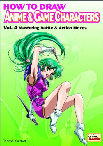 9784766112542: How to Draw Anime & Game Characters, Vol. 4: Mastering Battle and Action Moves
