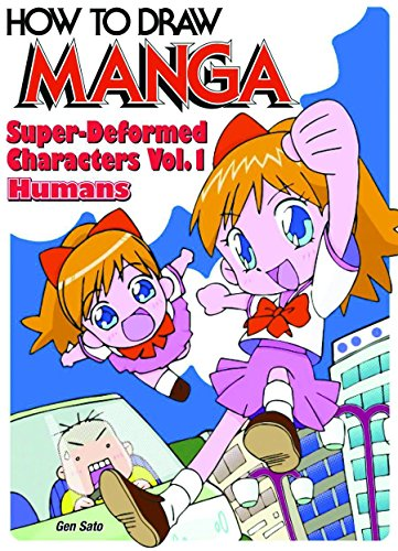 9784766114355: How To Draw Manga Volume 18: Super-Deformed Characters Volume 1: Humans