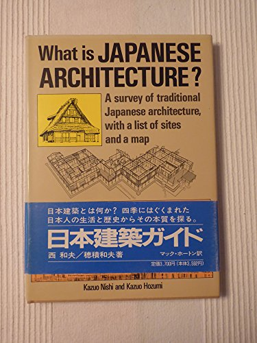9784770012111: What Is Japanese Architecture?