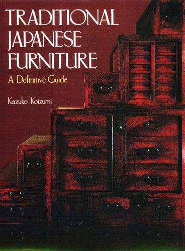 Traditional Japanese Furniture: Koizumi, Kazuko