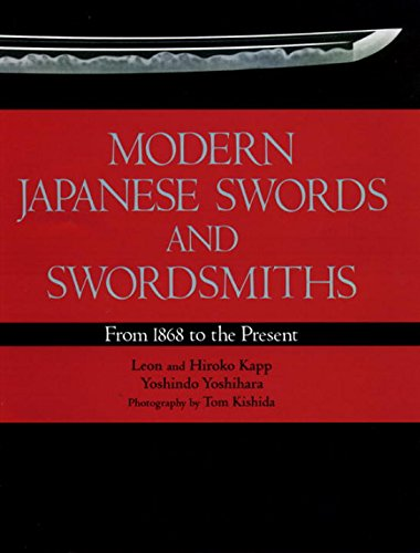 9784770019622: Modern Japanese Swords and Swordsmiths: From 1868 to the Present