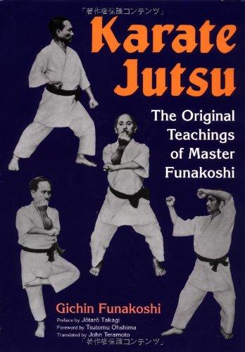 9784770026811: Karate Jutsu: The Original Teachings of Gichin Funakoshi