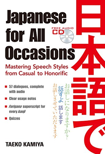9784770031518: Japanese For All Occasions: Mastering Speech Styles From Casual To Honorific
