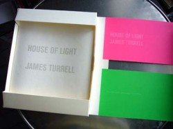 James Turrell : House of Light: JAMES). Turrell, James & Junichiro Tanizaki (TURRELL