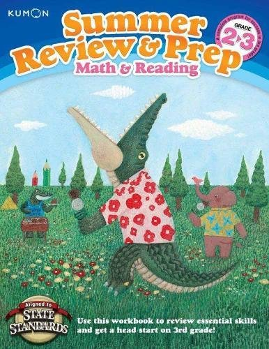 9784774300023: Summer Review & Prep: 2-3 (Kumon Summer Review & Prep)