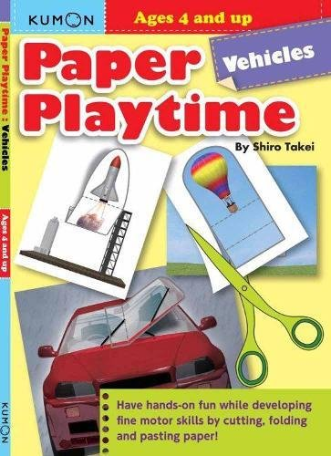 9784774300061: Paper Playtime: Vehicles (Paper Playtime Workbook)