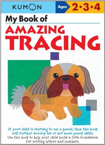 9784774300078: My Book of Amazing Tracing (Kumon Workbook)